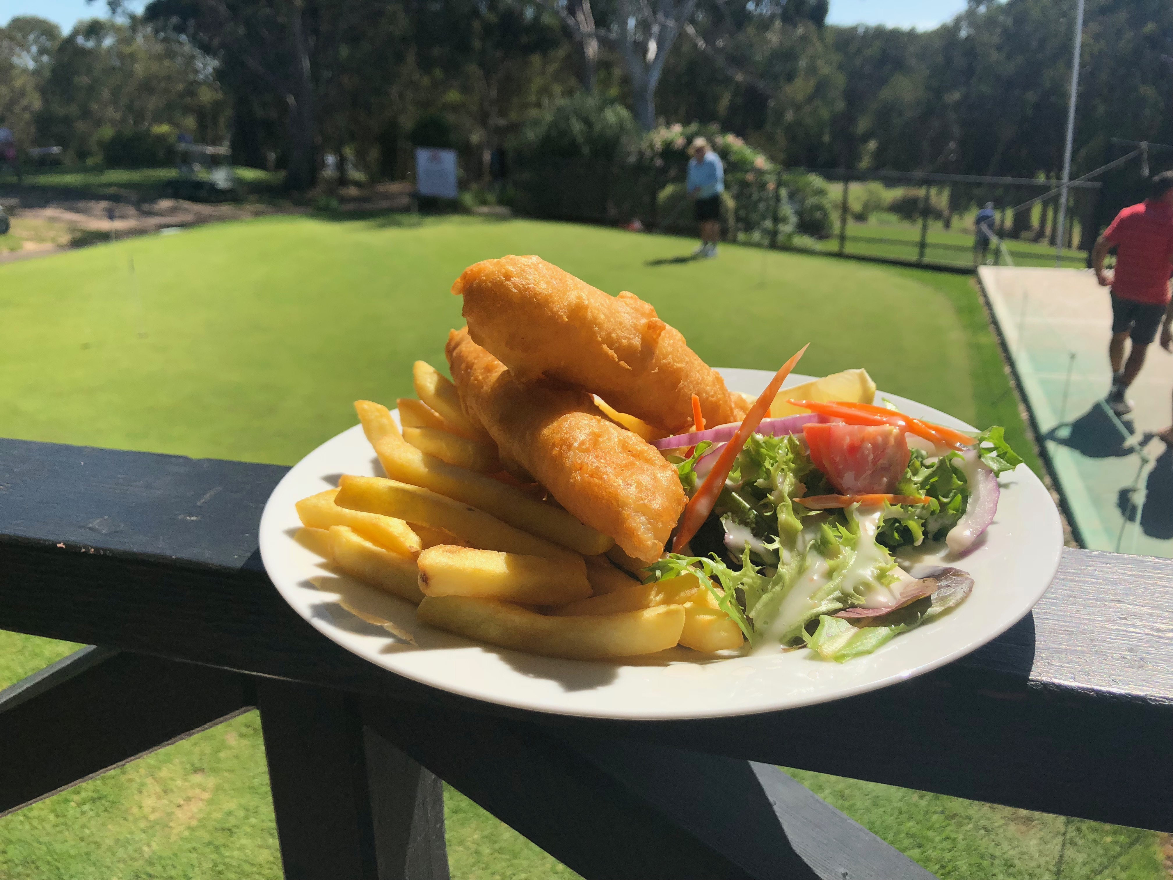 bistro meal fish and chips
